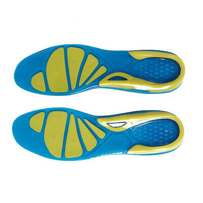 Gel Orthotic Insoles for Arch Support Plantar Fasciitis Flat Feet Back Heel Pain