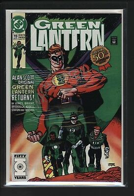 Green Lantern #19 Perfect Nm Signed By Creator Martin Nodell With Certificate