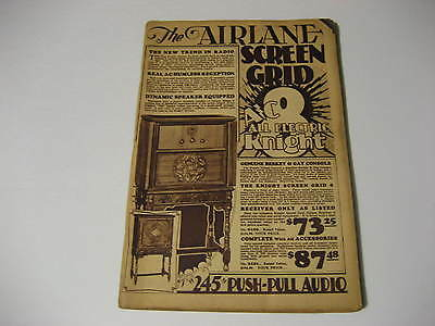 Vintage Airlane Screen Grid Radio Wholesale Catalog ....192 Pages!