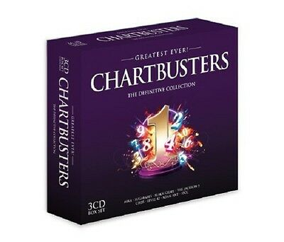 Greatest Ever Chartbusters 3-CD Box Set NEW SEALED Madness/10cc/Thin Lizzy/Free+