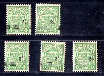 2062       Luxembourg Luxemburg beautiful CLASSIC MNH Aggressively DISPLACED