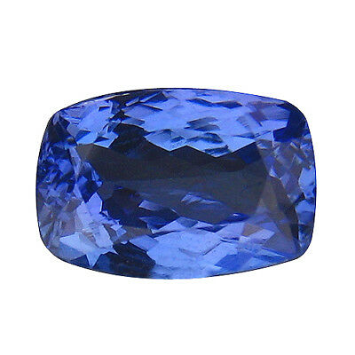 1.89Ct MIND BOGGLING ! TOP RICH FIRE AAA BLUISH VIOLET NATURAL TANZANITE
