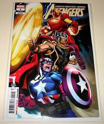 The AVENGERS # 1  Marvel Comic  (August 2018) NM   2nd PRINTING VARIANT COVER