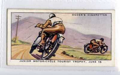 (Je3541) OGDENS,MOTOR RACES 1931,JUNIOR MOTOR-CYCLE TOURIST TROPHY,1931,#36