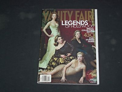 2001 April Vanity Fair Magazine - Legends Of Hollywood Cover - B 4269