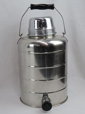 Vintage Stanley Stainless Steel Thermal Jug For Hot Or Cold Liquids (670)