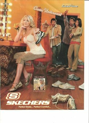 Carrie Underwood, Skechers, Full Page Ad