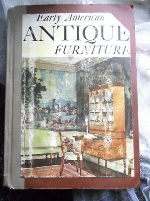 EARLY AMERICAN ANTIQUE FURNITURE Morton Yarmon 1952 Photos Antique Chair Table