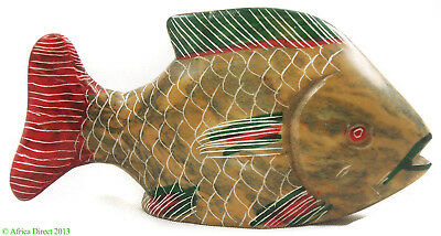 Stone Fish African Swaziland African Art SALE WAS $15.00