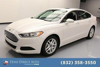 2016 Ford Fusion SE Texas Direct Auto 2016 SE Used 2.5L I4 16V Automatic FWD Sedan