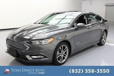 2017 Ford Fusion Hybrid SE Texas Direct Auto 2017 Hybrid SE Used 2L I4 16V Automatic FWD Sedan Moonroof