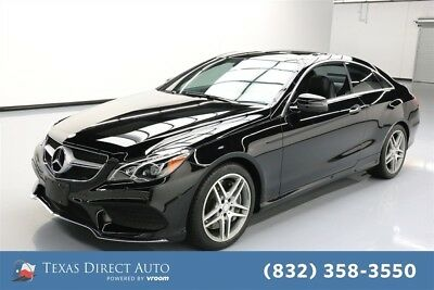 2014 Mercedes-Benz E-Class E 550 Texas Direct Auto 2014 E 550 Used Turbo 4.7L V8 32V Automatic RWD Coupe Premium