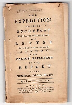 1758 The Expedition Against Rochefort