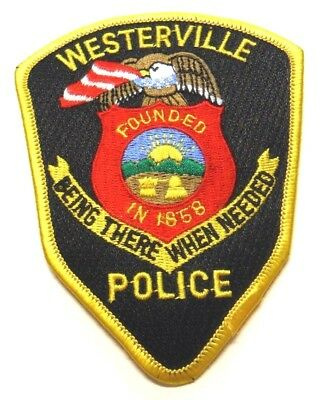 Westerville Ohio Police Patch Unused