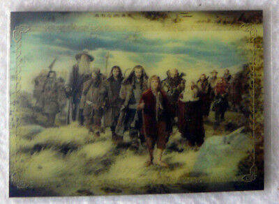 The Hobbit An Unexpected Journey 3D Lenticular Card KA-02 The Company of Dwarves
