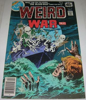 WEIRD WAR TALES #70 (DC Comics 1978) Luis Dominguez cover (FN+) RARE