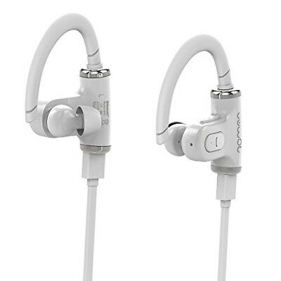 Bluetooth Headphones Wireless Miniso 530 White In Ear Handsfree Kit Gym 9 50 Picclick Uk