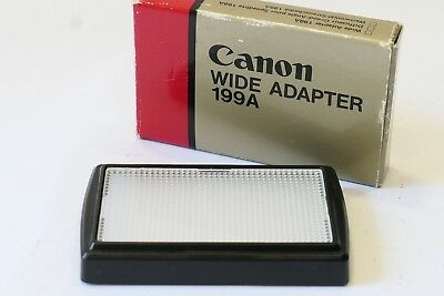 Canon Wide Adapter Panel 199A, Boxed, fits Speedlight 199A Camera Flash