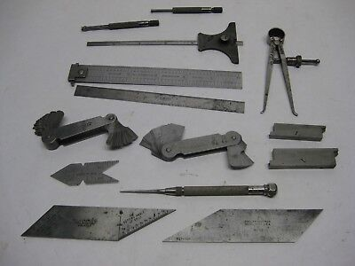 14 Used Starrett Tools All As Pictured
