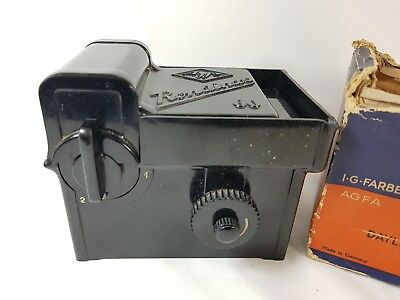 Agfa Rondinax 60 Daylight Developing Tank Damaged