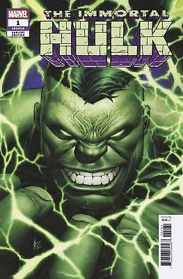 Immortal Hulk #1 Keown 1:50 Incentive Variant Marvel Comics 2018
