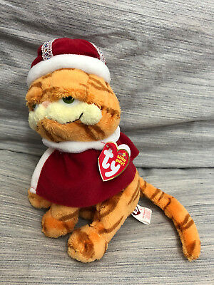 New! 2006 TY Beanie Baby king GARFIELD HIS MAJESTY Plush King Crown new w/ tags