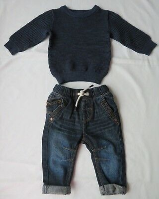 next boys outfit outfit age 6-9 months