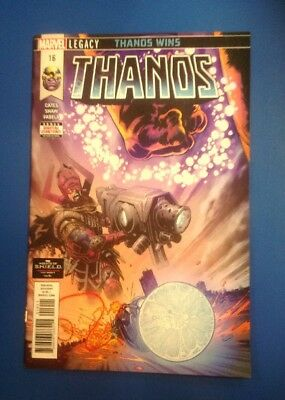 Thanos #16 Origin Of Cosmic Ghost Rider First Print Nm/m