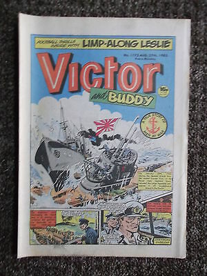 5 1983 VICTOR COMICS AUGUST - SEPTEMBER No's 1175, 1176, 1177, 1178, 1179