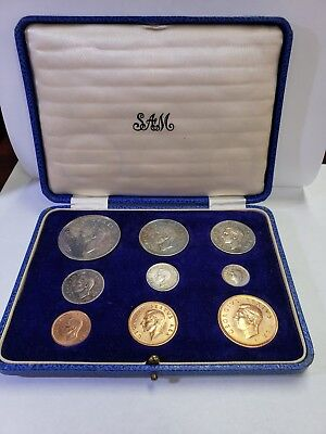 1951 South African Short Proof Set