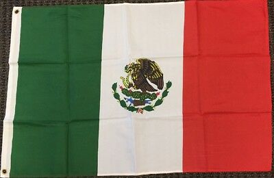 Mexico Flag Mexican Banner Country Pennant Bandera Mexicana 2x3 ft Outdoor 24x36