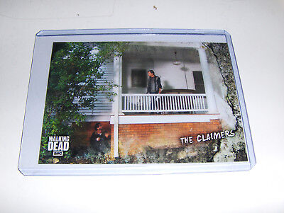 WALKING DEAD ROAD TO ALEXANDRIA Card 60 The Claimers NM