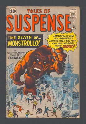"""TALES OF SUSPENSE #25 """"1962"""". Art by STEVE DITKO and JACK KIRBY!"""