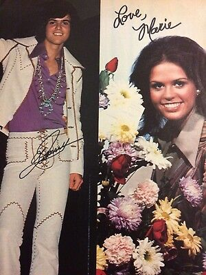 Donny and Marie Osmond, The Osmonds Brothers, Full Page Vintage Pinup