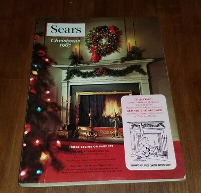 1967 Sears Roebuck and Co. Merry Christmas catalog book wishbook MINT