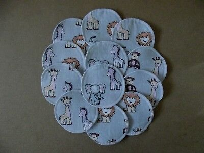 WASHABLE AND REUSABLE CLOTH NURSING BREAST PADS *6 Pairs / 12 Pads*