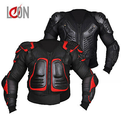 New Body Armour Motorcycle Motorbike Motocross Protector Guard Adult Jacket