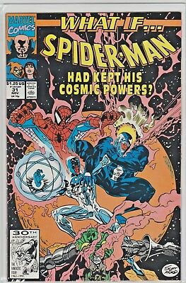 1991 SPIDER-MAN WHAT IF #31 ~ HE HAD KEPT HIS COSMIC POWERS ~ Venom ~ NM-