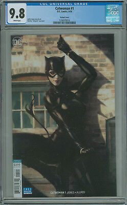 Catwoman #1 CGC 9.8 Artgerm Variant DC 2018 Free Shipping