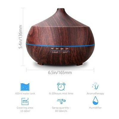 Aromatherapy Essential Oil Diffuser & Essential Oil Set-Tenswall 400ml