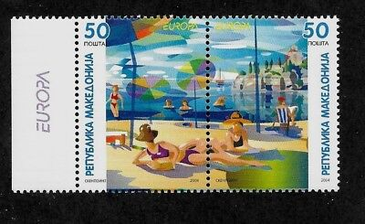 MACEDONIA Sc 305 NH issue of 2004 - EUROPA