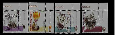 MACEDONIA Sc 163-6 NH issue of 1999 - FLOWERS