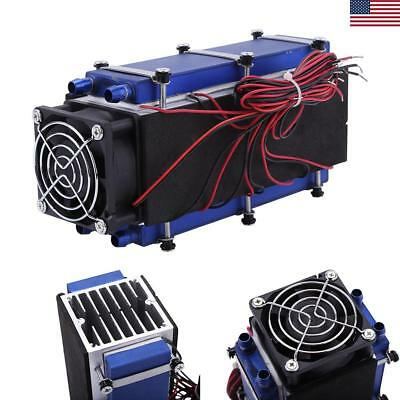 576W DC 12V Semiconductor Refrigeration Thermoelectric Cooler Air Cooling Device