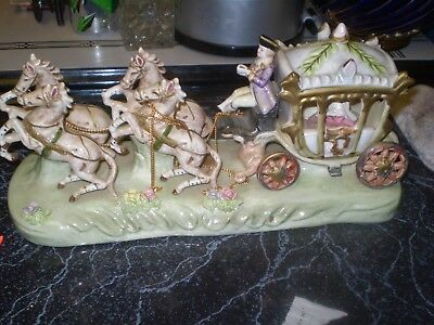 norleans horse and carriage figurine