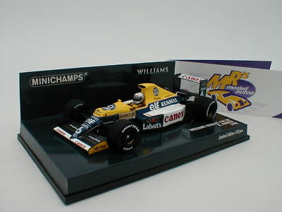 "Minichamps 437900006 - Williams Renault FW13B "" Ricardo Patrese "" F1 1990 1:43"