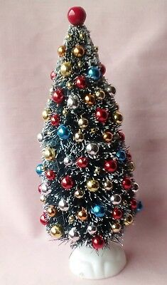 "Dolls House Decorated 6"" Christmas Tree,"