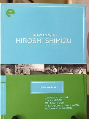 TRAVELS WITH HIROSHI SHIMIZU- Criterion Eclipse Series #15, 4 DVDs/Movies, R1