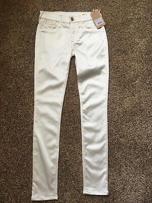 NWT True Religion Halle Limited Edition super skinny satin jeans/pants 25 crysta
