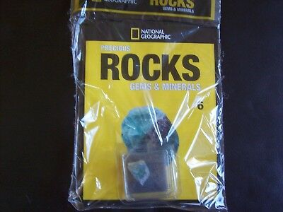 National Geographic Precious Rocks Gems & Minerals Magazine Issue 6 Fluorite