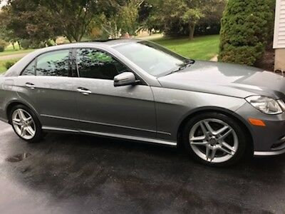 2013 Mercedes-Benz E-Class E 350 Luxury 4MATIC AWD used 2013 mercedes benz excellent condition